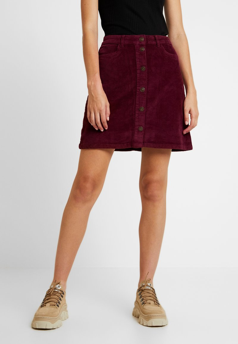 ONLY - A-line skirt - tawny port