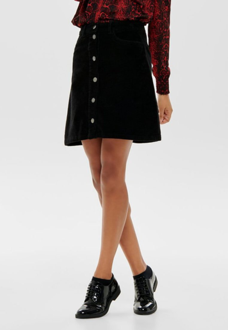 ONLY - A-line skirt - black