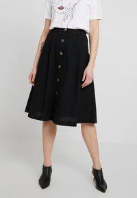 ONLY - A-snit nederdel/ A-formede nederdele - black - 2