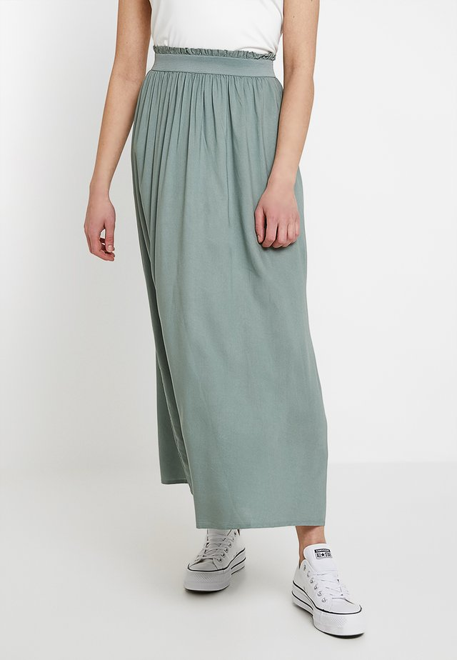 ONLVENEDIG  - Maxi skirt - chinois green