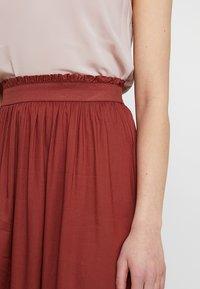 ONLY - ONLVENEDIG  - Maxi skirt - henna - 5