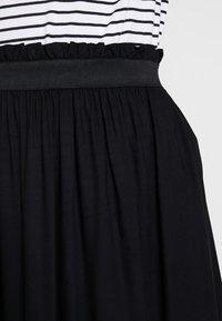 ONLY - ONLVENEDIG  - Falda larga - black - 4