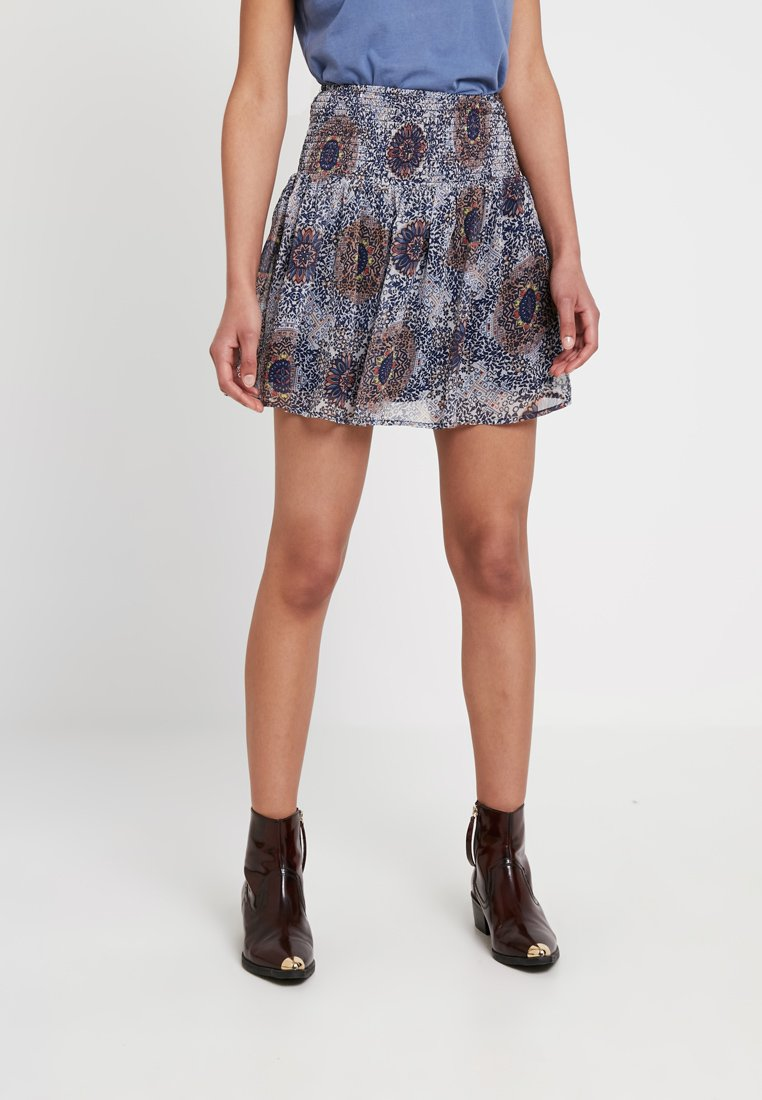 ONLY - ONLMAY SHORT SKIRT - Mini skirts  - pumice stone
