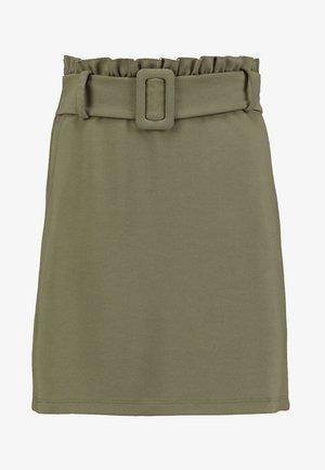 ONLGIGI BELT SKIRT - Áčková sukně - kalamata
