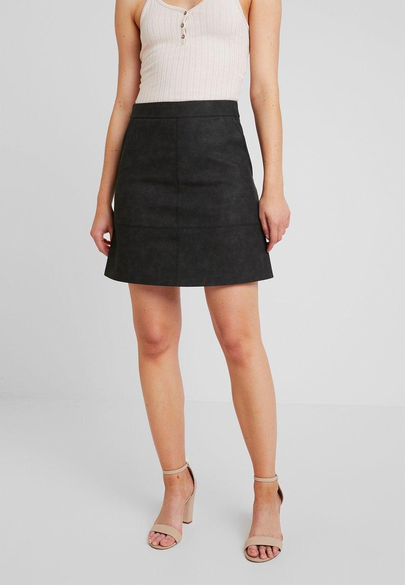 ONLY - ONLLISA SKIRT - Áčková sukně - black