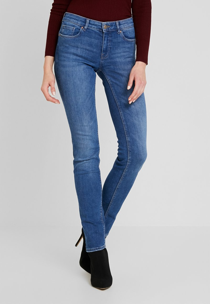 ONLY - Slim fit -farkut - medium blue denim