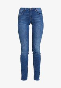 ONLY - Slim fit -farkut - medium blue denim - 4