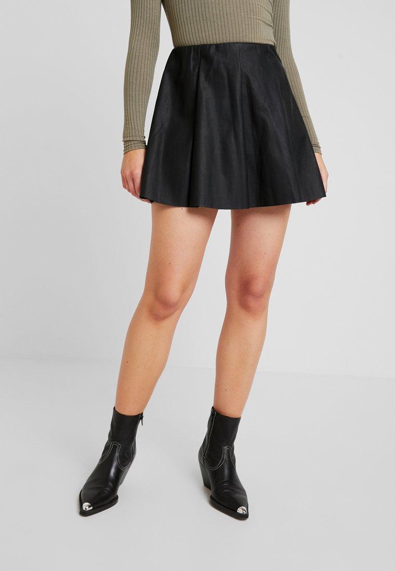 ONLY - ONLNEOLINE BASE SKIRT - A-line skirt - black