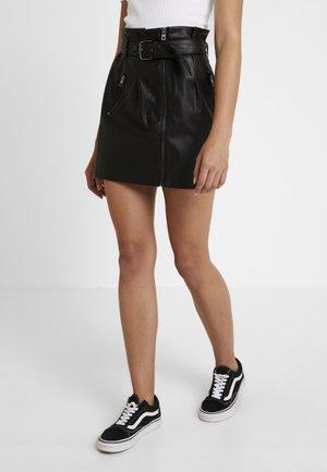 ONLMETTE SHORT SKIRT - Blyantnederdel / pencil skirts - black