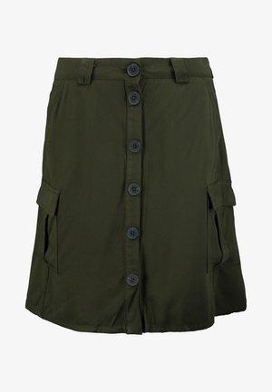 ONLLEA CARGO SKIRT - Minifalda - kalamata