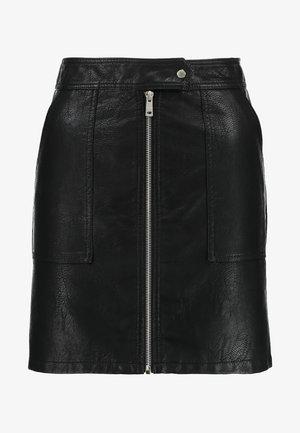 ONLERICA SKIRT - Falda de tubo - black