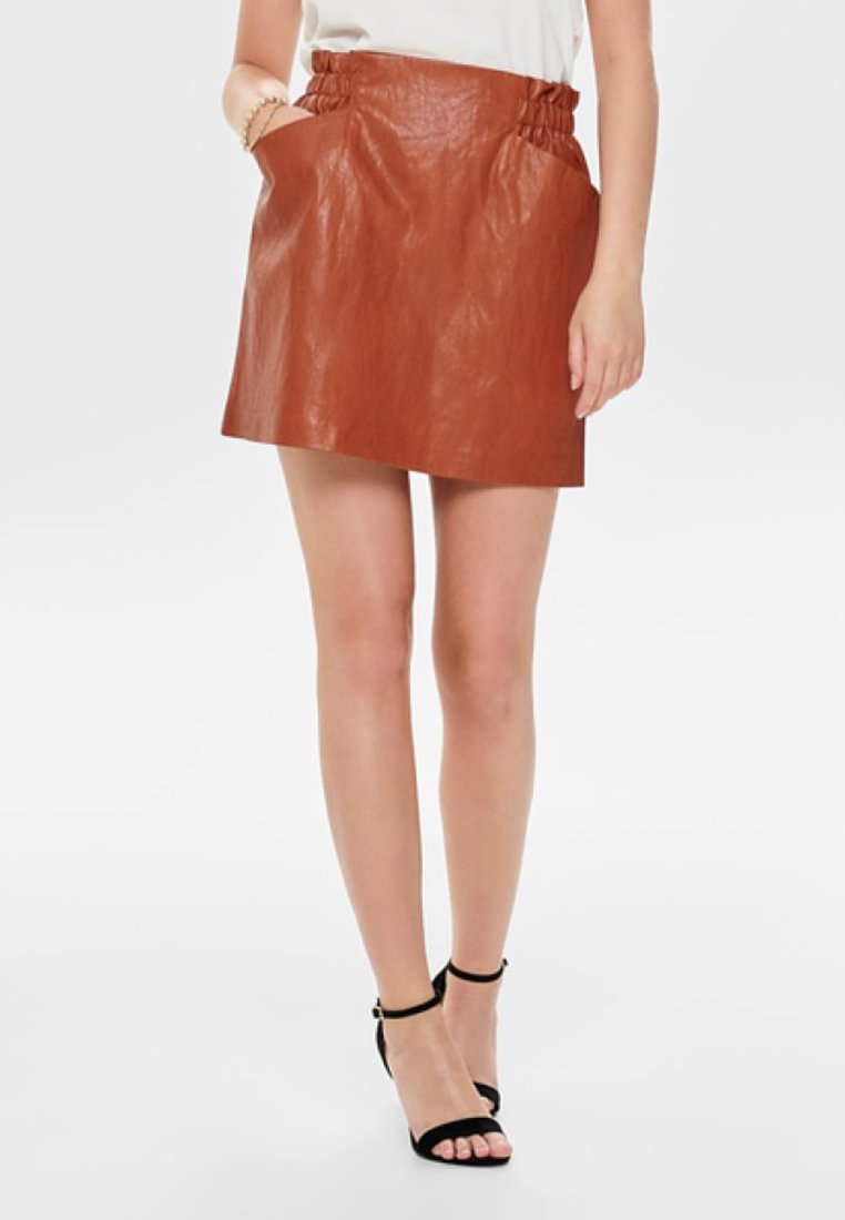 ONLY - Mini skirt - brown