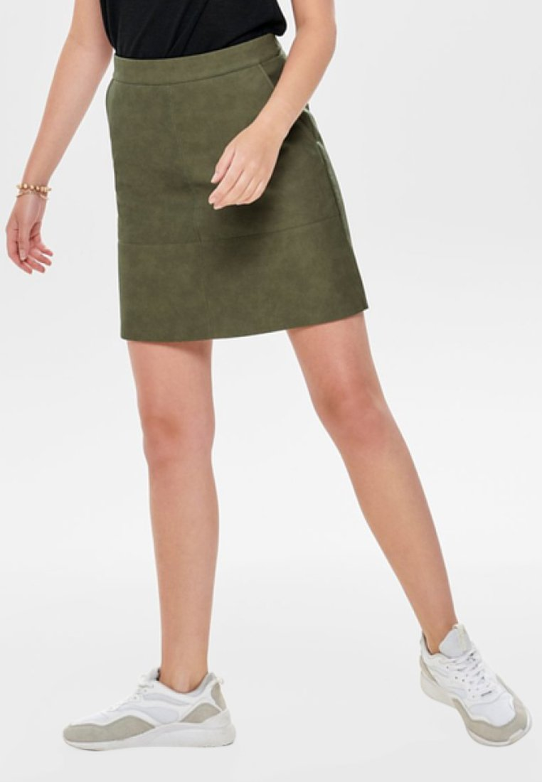 ONLY - Minifalda - crocodile