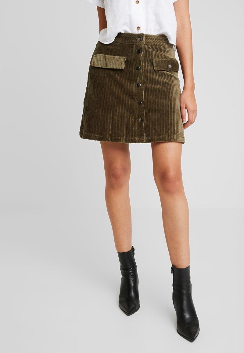 ONLY - ONLFENJA SKIRT - A-line skirt - kalamata