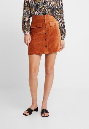 ONLFENJA SKIRT - A-line skirt - ginger bread