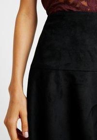 ONLY - ONLELLIE SKIRT - A-line skirt - black - 4