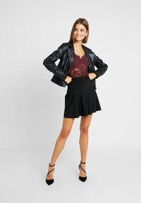ONLY - ONLELLIE SKIRT - A-line skirt - black - 1