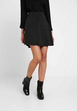 ONLLAURA SKATERSKIRT - A-line skirt - black