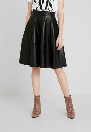 ONLSALLY SKIRT - A-linjainen hame - black
