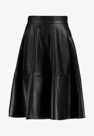 ONLSALLY SKIRT - A-line skirt - black
