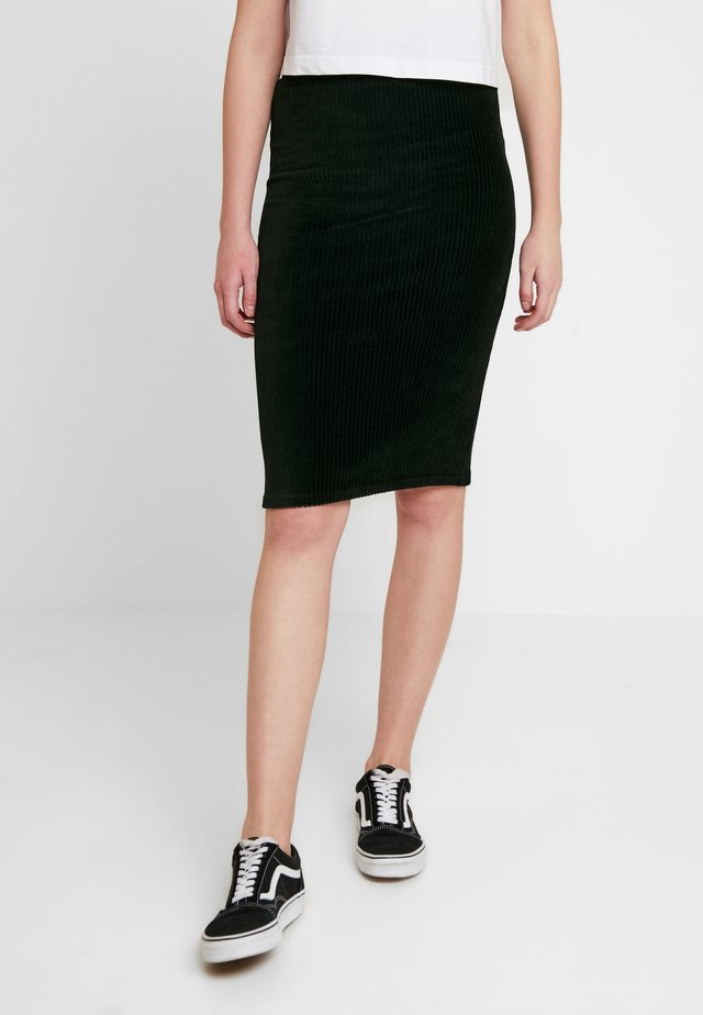 ONLCOSY PENCIL SKIRT - Falda de tubo - black