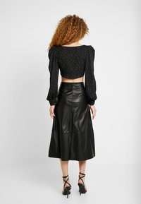 ONLY - ONLJANE MIDI SKIRT - A-line skirt - black - 2