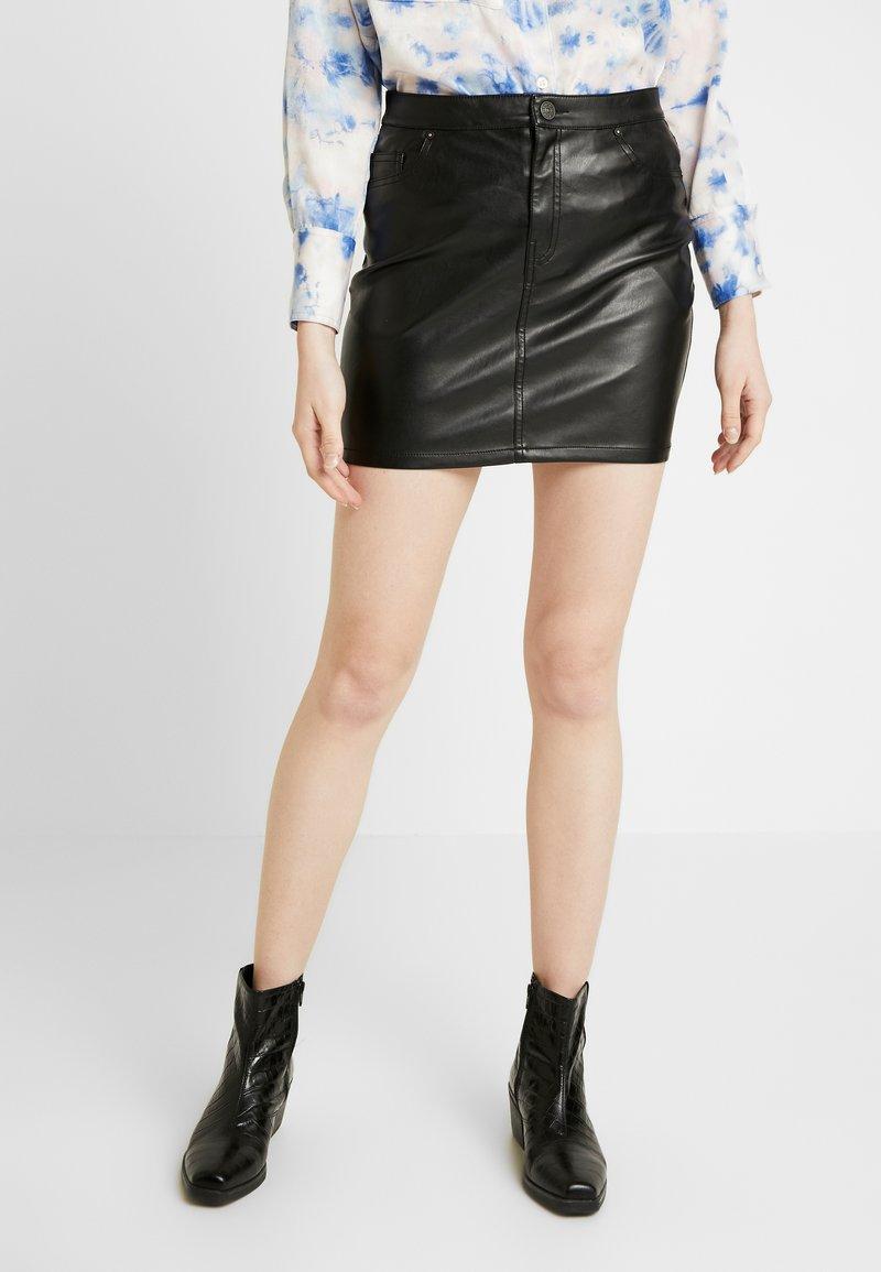 ONLY - ONLNORMA SKIRT - Minifalda - black