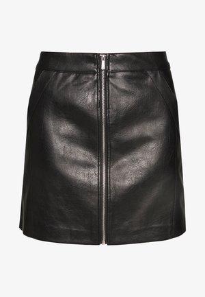 ONLGLOW SKIRT  - A-line skirt - black