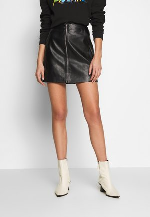 ONLGLOW SKIRT  - A-line skirt - black