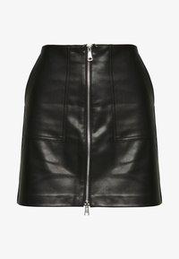 ONLY - ONLKYLIE MORGAN SKIRT - Minifalda - black - 5