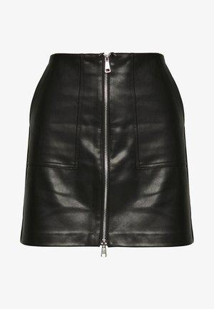 ONLKYLIE MORGAN SKIRT - Minifalda - black