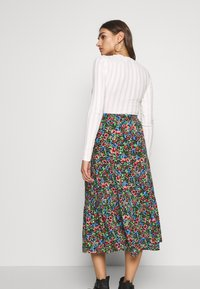 ONLY - ONLFLORAL LONG SKIRT - A-line skjørt - night sky - 2