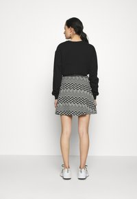 ONLY - ONLVIGGA SKATER SKIRT - A-line skirt - cloud dancer
