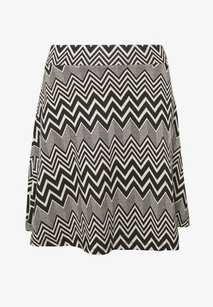 ONLVIGGA SKATER SKIRT - A-line skjørt - cloud dancer