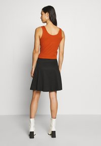 ONLY - ONLVIGGA SKATER SKIRT - A-line skirt - black - 2