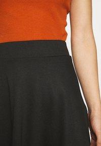 ONLY - ONLVIGGA SKATER SKIRT - A-line skirt - black - 4