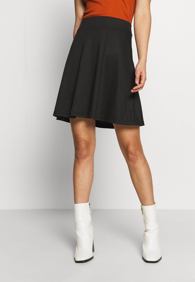 ONLY - ONLVIGGA SKATER SKIRT - A-line skirt - black