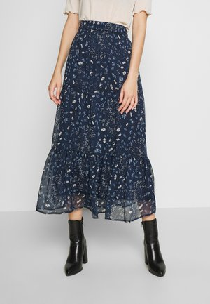 ONLNABBY MID CALF SKIRT - A-line skjørt - night sky