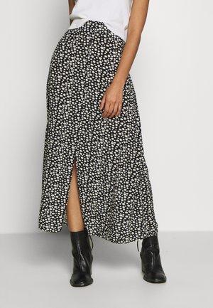 ONLDAVIE MIDI SKIRT - A-line skirt - black