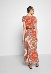 ONLY - ONLNOVA LONG SKIRT  - Maxi skirt - lotus/flame - 2