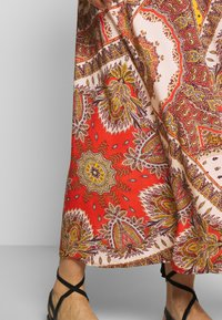 ONLY - ONLNOVA LONG SKIRT  - Maxi skirt - lotus/flame - 4