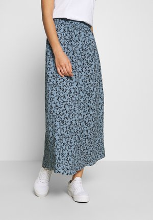 ONLNOVA LUX LONG SKIRT - A-snit nederdel/ A-formede nederdele - ashley blue/honeymoon