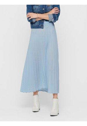 FALTENDETAIL - A-lijn rok - cashmere blue