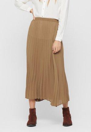 FALTENDETAIL - A-line skirt - brown