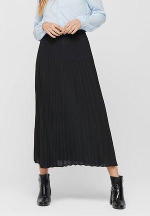 FALTENDETAIL - A-line skirt - black