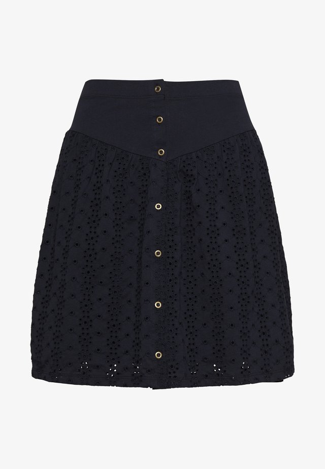 ONLVANNA SHORT SKIRT - Falda acampanada - night sky