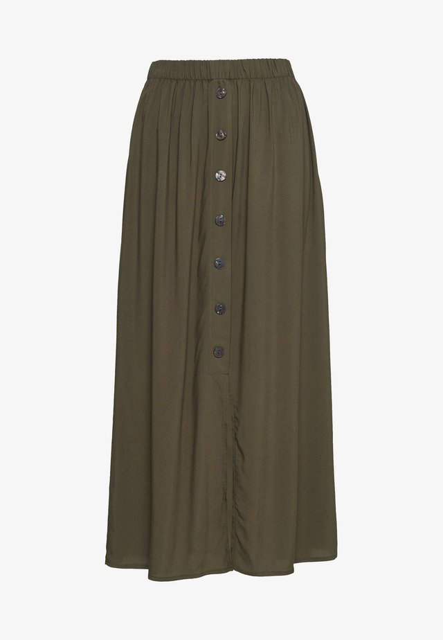 ONLNOVA LIFE LONG BUTTON SKIRT  - Kynähame - grape leaf