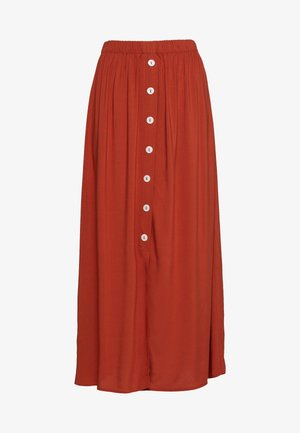 ONLNOVA LIFE LONG BUTTON SKIRT  - Falda de tubo - arabian spice
