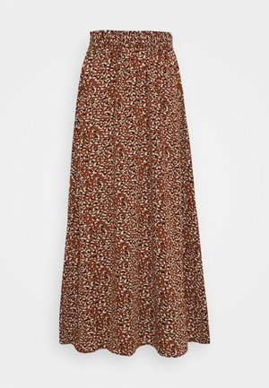 ONLNOVA LUX LONG SKIRT  - Gonna lunga - tan