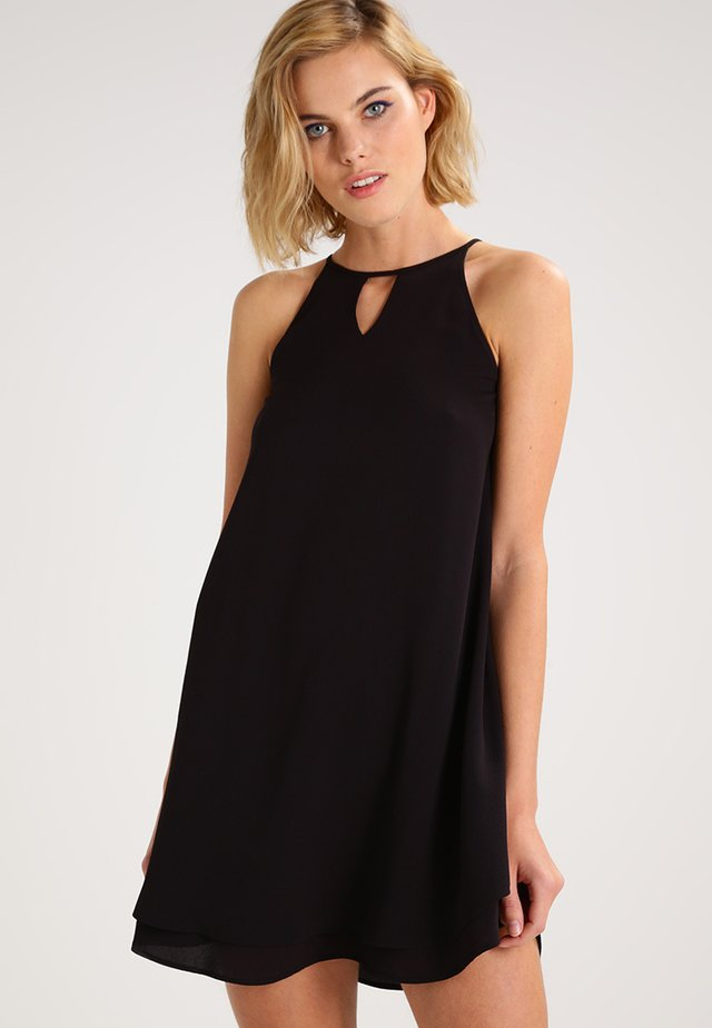 MYRINA - Korte jurk - black